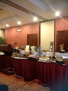 First auction I attended held in a hotel in Tukwila, WA. Specialized in Native American items.