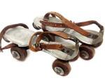 Roller skates or ice skates.