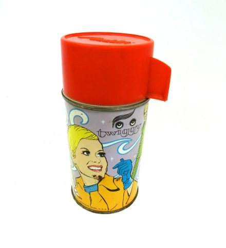 Vintage 'Twiggy' thermos